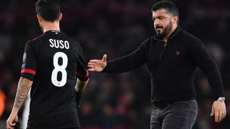 LGdS: Gattuso chce zatrzymać Suso w Milanie
