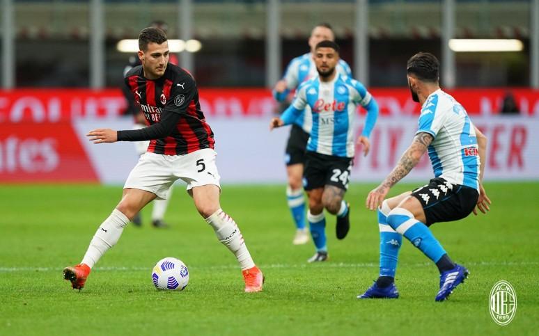 Porażka z drużyną Gattuso - Milan 0:1 Napoli