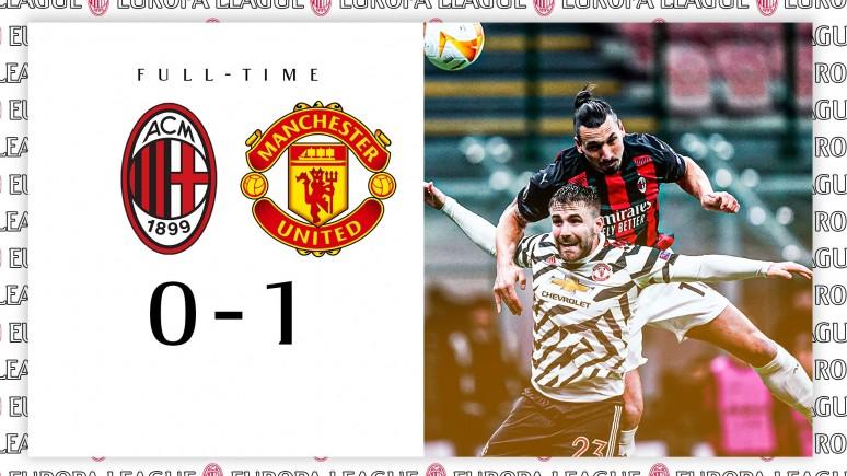 Koniec przygody z europejskimi pucharami. Milan 0:1 Manchester United