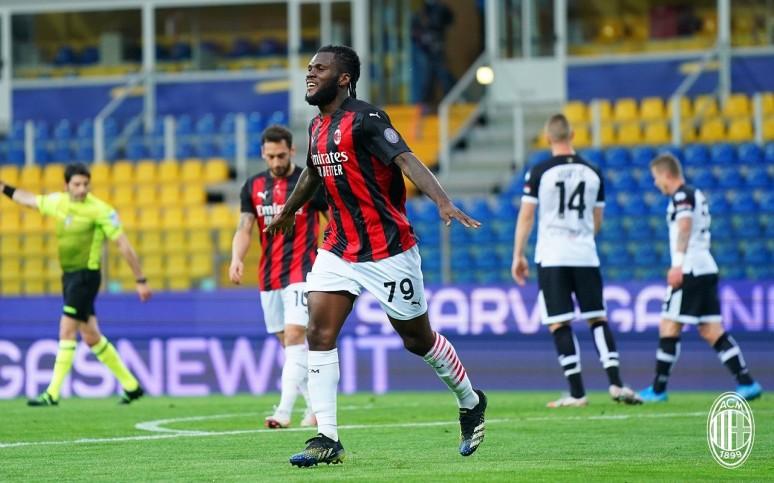 Nerwowa końcówka przyniosła zwycięstwo - Parma 1:3 Milan