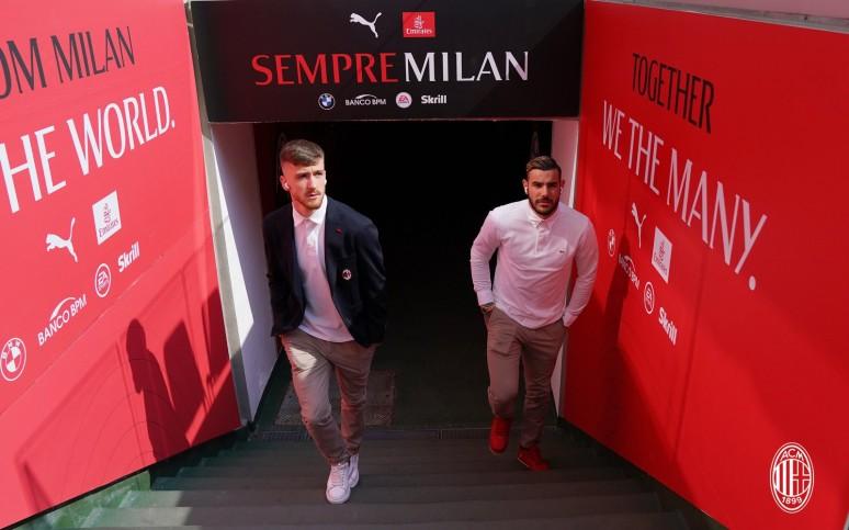 Milan vs Genoa - Oficjalne składy